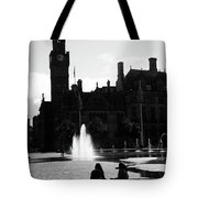 Comforted By The City Tote Bag
