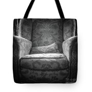 Comfy Chair By The Window Tote Bag