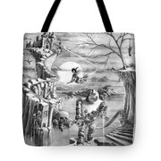 Comic Book Cover Tote Bag
