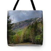 Comin Around The Bend In Campton New Hampshire Tote Bag