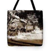 Comin Round The Mountain Tote Bag