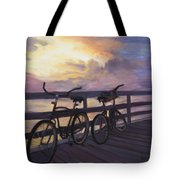 Coming And Going By Marilyn Nolan- Johnson Tote Bag
