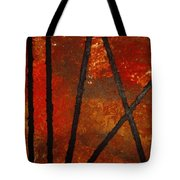 Coming Apart Tote Bag