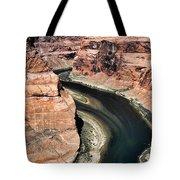 Coming Around Horseshoe Bend Page Arizona Colorado River  Tote Bag