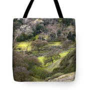 Coming Down The Hill Tote Bag