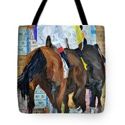 Coming From Behind Tote Bag