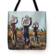 Coming From The Fields Tote Bag