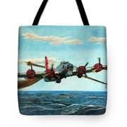 Coming Home - Boeing B-17 Flying Fortress V2 Tote Bag