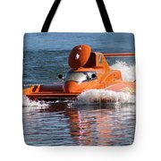 Time Trial Is Complete Tote Bag