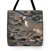 Coming In For A Landing - Jersey Shore Tote Bag