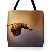 Coming In For The Evening Tote Bag