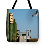 Coming In For The Landing Tote Bag
