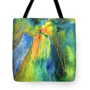 Coming Lord Tote Bag by Nancy Cupp