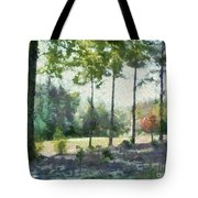 Coming Out Of The Woods Tote Bag