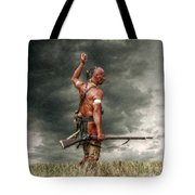 Coming Storm Tote Bag by Randy Steele