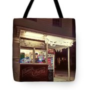 Coming Street Night Life Tote Bag
