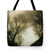 Coming Up The Drive 2 Tote Bag