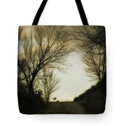 Coming Up The Drive Tote Bag