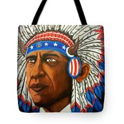 Commander And Chief Tote Bag