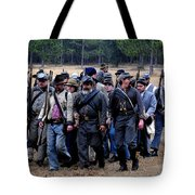 Commanding The Troops Tote Bag
