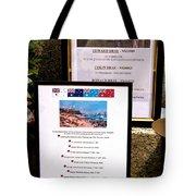 Commemorations Anzac Cove Tote Bag