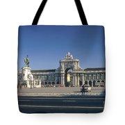Commerce Square Tote Bag