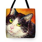 Commission Your Pets Portrait By Artist Carole Spandau Bfa Ecole Des Beaux Arts  Tote Bag