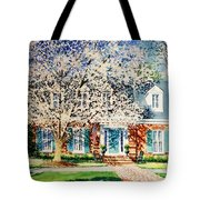 Commissioned House Portrait  Tote Bag