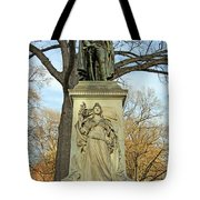 Commodore John Barry Monument Tote Bag