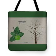 Common Apple Tree Id Tote Bag