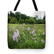 Common Spotted Orchids Tote Bag