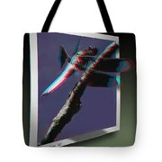 Common Whitetail - Use Red-cyan 3d Glasses Tote Bag