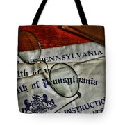Commonwealth Of Pennsylvania Tote Bag