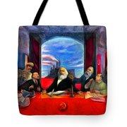 Communist Last Supper Tote Bag