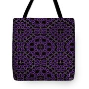 Community Garden Two Abstract Tote Bag