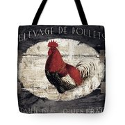 Compagne IIi Rooster Farm Tote Bag