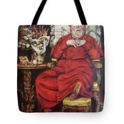 Complacency.  Tote Bag