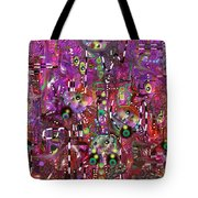 Complexity Tote Bag by Marko Mitic