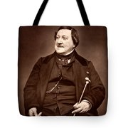 Composer Rossini Tote Bag