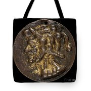 Composite Head Formed Of Phalluses [reverse] Tote Bag