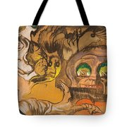 Composition Green Eye Tote Bag