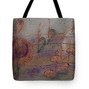 Composition In B Flat Tote Bag
