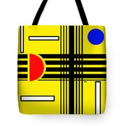 Composition 3 Tote Bag