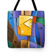 Composition # 5 Tote Bag