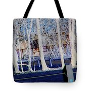 Composition Of Trees Tote Bag