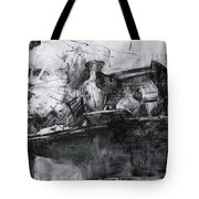 Composition With A Statue Tote Bag