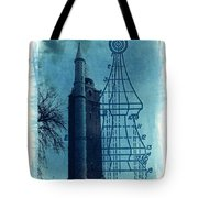 Compton Blueprint Tote Bag
