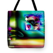 Computer Bugs Series 2 Of 7 Tote Bag