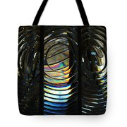 Concentric Glass Prisms Tote Bag