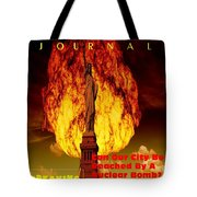 Concept Magazine Cover For The Imaginary New York Weekend Journal 5 Jan 2018 V2 Tote Bag